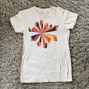 American apparel modest mouse band tee